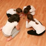 Yoga Games build cooperation and social skills