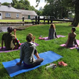 Yoga by the Canal
