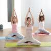 Non-Slip Yoga Mat Light Blue